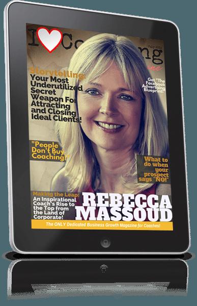 July 2015 I Love Coaching Magazine Cover